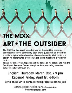 The MiXX- Art + The Outsider_English