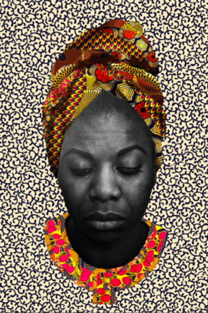 Nina Simone Limited Edition Digital Prints 8x10""