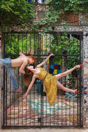 "Alexander Peters and Elizabeth Mateer, Philadelphia, PA Sublimation on Aluminum 30x45"""