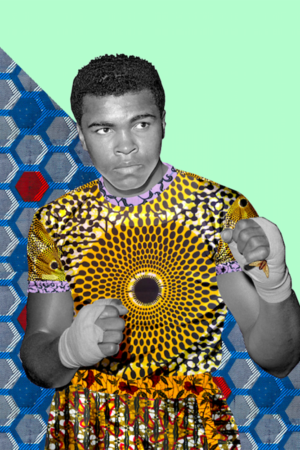 Muhammed Ali Limited Edition Digital Prints 8x10""