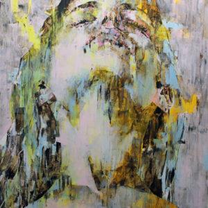 "Celeste 2014 oil on canvas 55x73"" •SOLD"