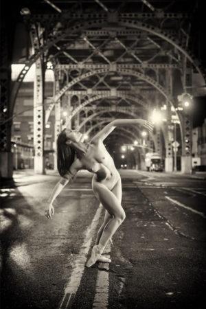 "Jasmine Chui, 12:43 AM, New York, NY Sublimation on Aluminum 43x65"""