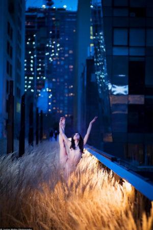 """Mariele de Mauro 5:00 PM, New York, NY Sublimation on Aluminum 30x45"""""""