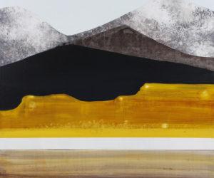 """""""Stacking Ridge Lines"""" 2017, Acrylic, 22x22"""""""