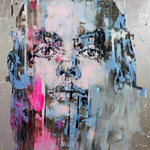 "Alessia 2021 oil on canvas 60x45"" •SOLD"
