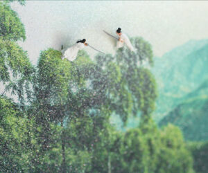 """""""'Crouching Tiger, Hidden Dragon' based on the 2003 film by Ang Lee,"""" Detail."""